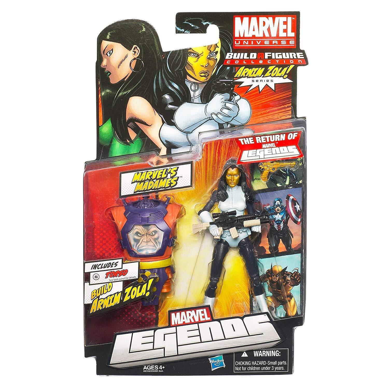 Marvel leggende Signora Masque Chase VARIANTE 6 Figura Giocattolo, Zola Wave, RARA