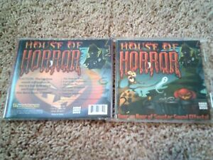 Details about HOUSE OF HORROR: HAUNTED HOUSE HALLOWEEN SOUNDS CD