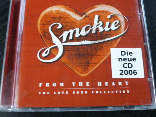 """CD """"From the heart - the love song collection"""" von Smokie / 51.007"""