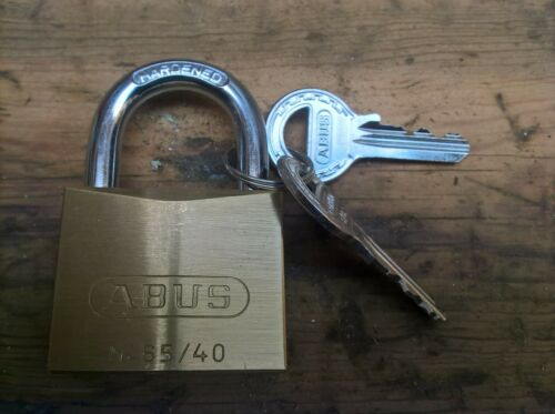 ABUS 65//40 Cadenas avec 2 clés