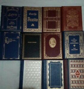 Literatura Universal. 11 Títulos Ediciones De Lujo En Español.