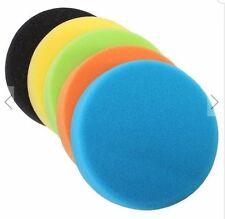 6 Inch Flat Sponge Buff Polishing Pad For Car Polisher