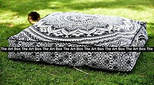 Indian-Mandala-Meditation-Square-Ombre-Floor-Pillow-Throw-Cushion-Cover-Pouf-35-034