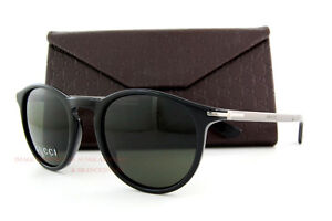 9f9edceab0 Brand New GUCCI Sunglasses 1110 S B2X NR Black  Gray for Men ...
