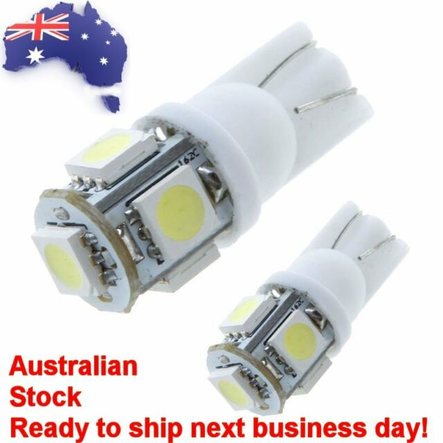 ULTRA White LED Parking / Number Plate Lights Bulbs for Prado FJ Cruiser Hilux