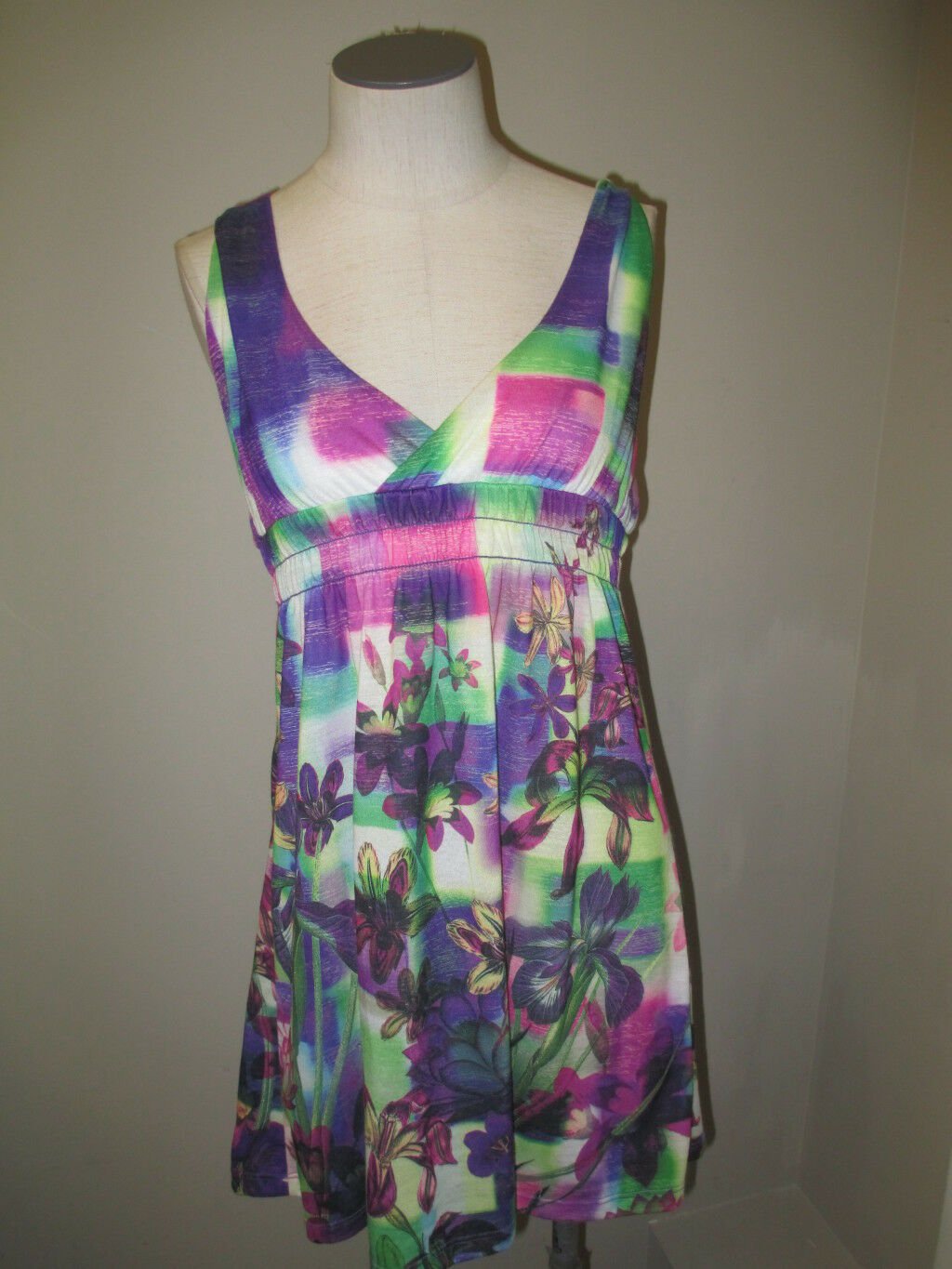 Becca Beach Coverup Multi color Size  NWOT