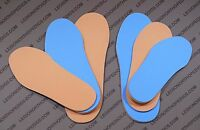 Diabetic Insole Dual Foam - Flat Inserts For Shoes Boots Sport Shoes All Sizes