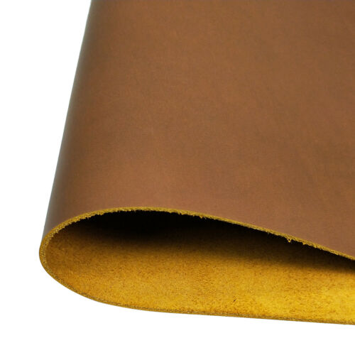 Full Grain Leather Tan Thick for Belt Wallets Bag Vegetable Tanned Cowhide Hides
