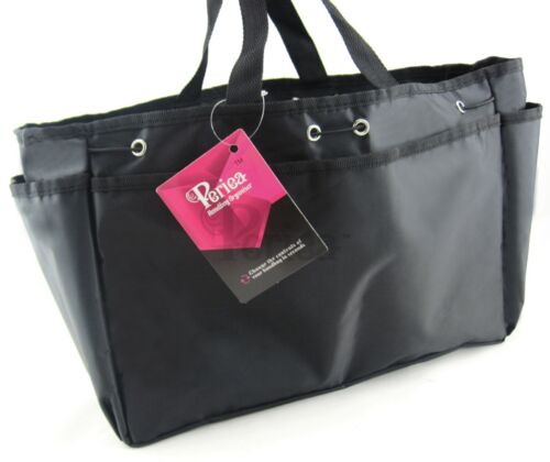 Periea Sac à Main Organisateur Fourre-tout sac à main Liner Insérer Extra Large Noir Bleu Rose
