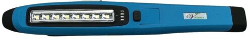 Magnetic Garage  LED Flashlight Lithium Rechargeable With Snap on Quality