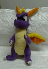 "Spiro the purple dragon 12"" plush"