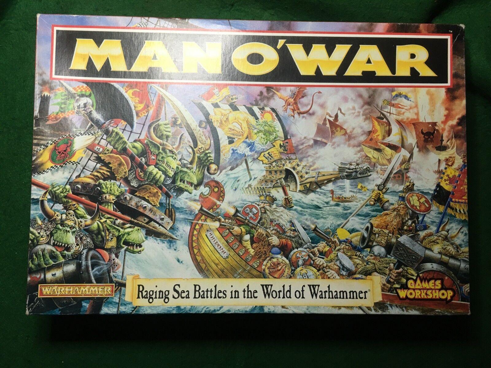 JUEGO MAN O'WAR RACING SEA BATTLES IN THE WORLD OF WARHAMMER DE JuegoS WORKSHOP