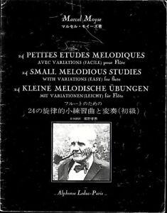 Marcel-Moyse-24-kleine-Melodische-Ubungen-mit-Variationen-leicht-fuer-Floete