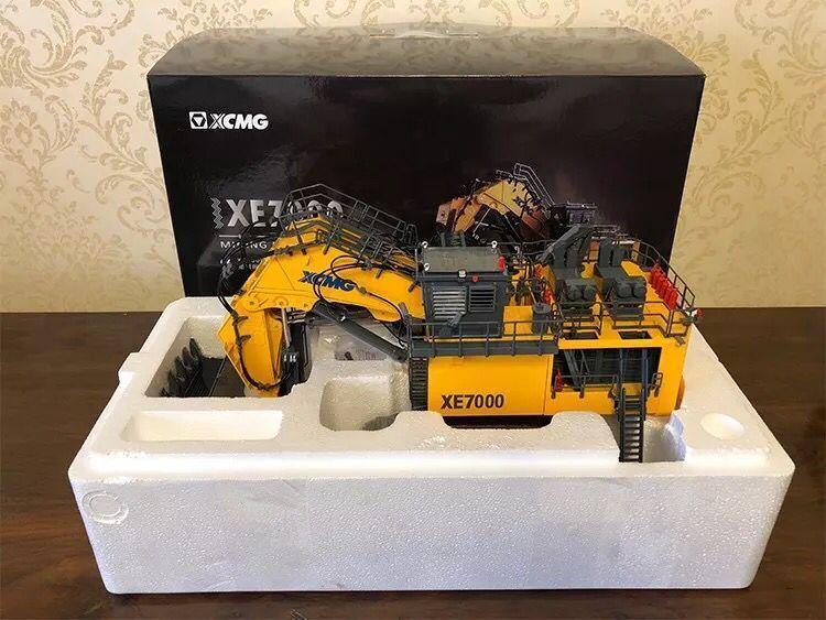 Raro  Xcmg XE7000 excavadora hidráulica de minería Super Grande 1 50 Escala Modelo de Metal