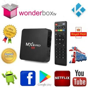 Details about MXQ Pro 1Gb 8Gb Android 7 1 2 Nougat Quad Core Smart TV Box  Kodi 18 3 Wonderbox