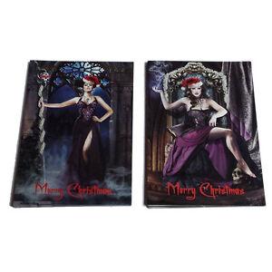 Alchemy-Gothic-Victoria-Frances-Alternative-Rocker-Christmas-Card-10-Pack