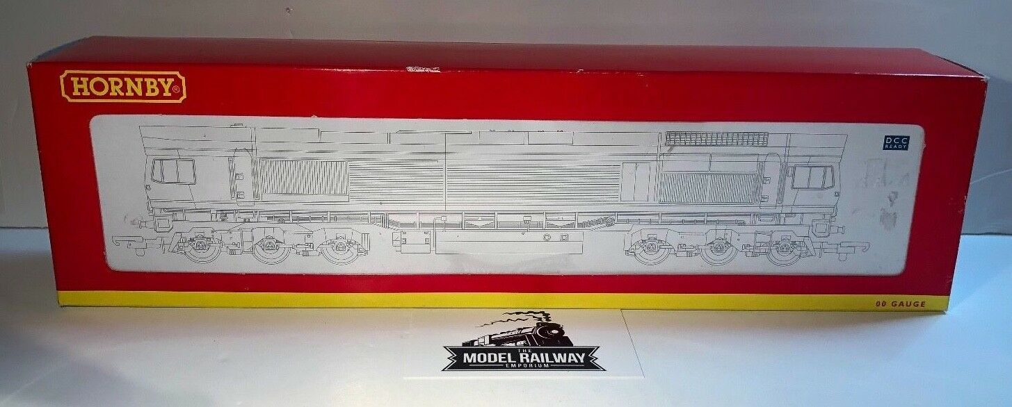 HORNBY 00 00 00 GAUGE - R2652 - GB CO-CO DIESEL ELECTRIC classe 66 blu LIGHTNING scatolaED 698775