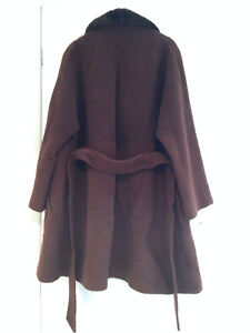 Clothing, Shoes & Accessories Brown Coat Size 10