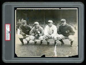 1928 Original Photo BABE RUTH, LOU GEHRIG, TY COBB, TRIS SPEAKER Baseball GODS