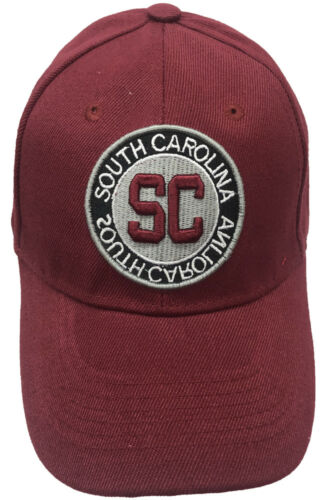 SOUTH-CAROLINA SC Adjustable Baseball Curved Visor Caps Hats LOT Wholesale