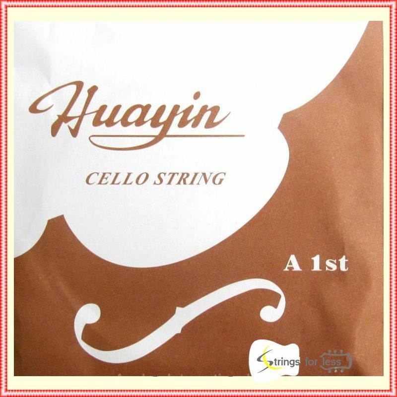 5set Huayin Student Cello Strings Fits 3/4 and 4/4 Größe Cello Full Set C,G,D,A