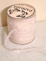 Gemini Papillon Acrylic Eyelash Thread, White Fun Knitting Yarn 100 Yards