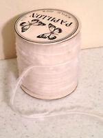 Gemini Papillon Acrylic Eyelash Thread, White Fun Knitting Yarn 100 Yards