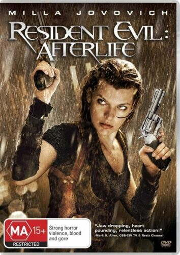 1 of 1 - Resident Evil - Afterlife (DVD, 2011)*R4*Terrific Condition*Mila Jovovich*