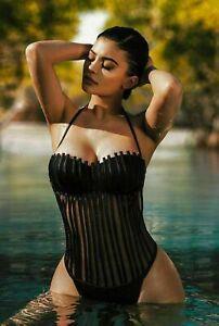 Y537 Art Wall Poster Kylie Jenner Sexy Model Girl Star Bikini