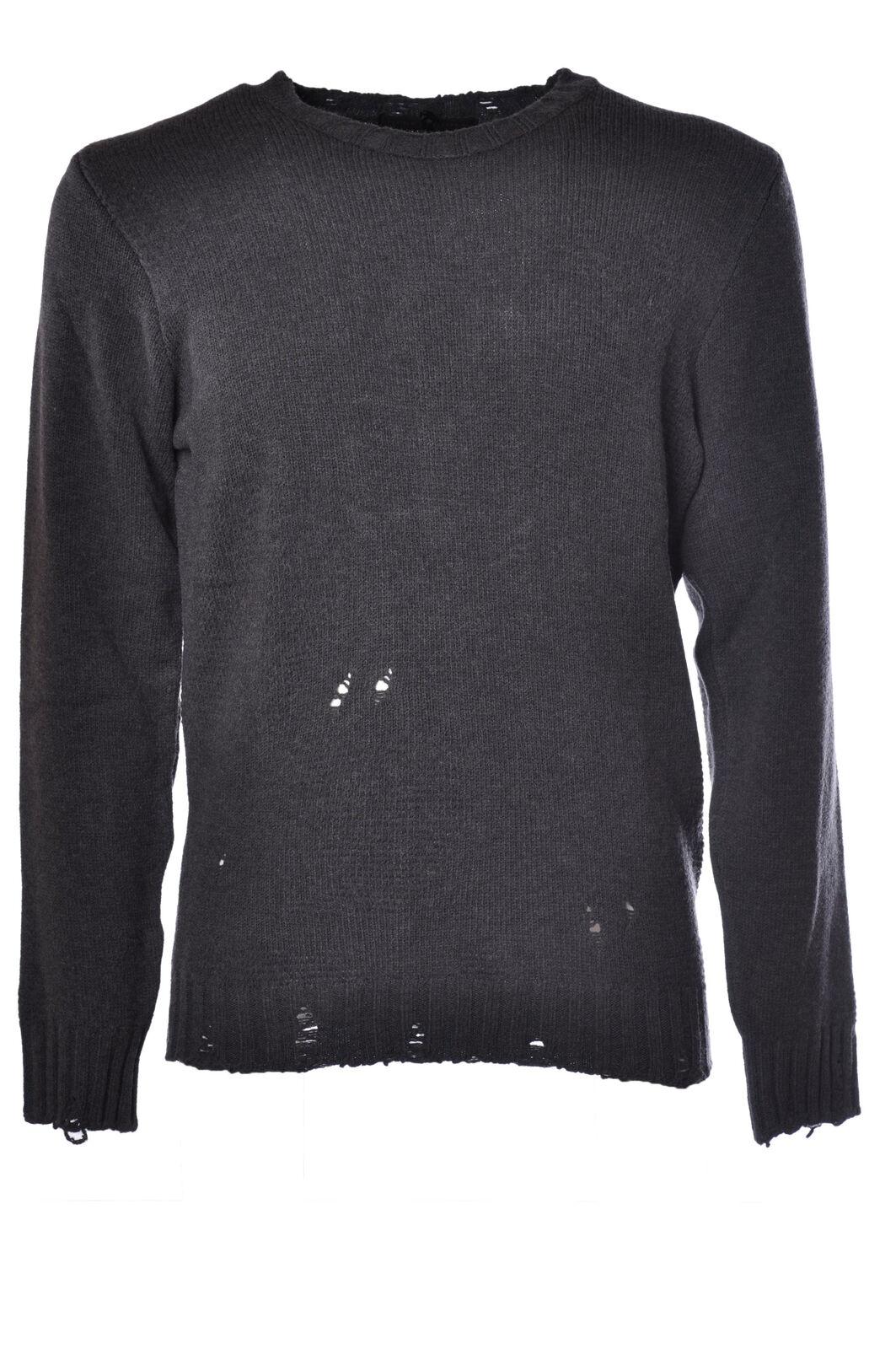 Daniele Alessandrini - Knitwear-Sweaters - Man - grau - 1012818C184640