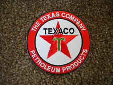 75mm TEXACO MOTORING EMBROIDERED PATCH