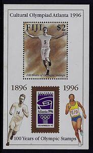 1996-FIJI-ATLANTA-OLYMPICS-MINISHEET-FINE-MINT-MNH-MUH