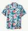 $135 T318982 Tommy Bahama  Garden Of Hope And Courage IslandZone® Camp Shirt