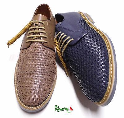 trenzado zapatos clásico cuero hombre genuino Ofrecer de de artesanal O8X0wknP