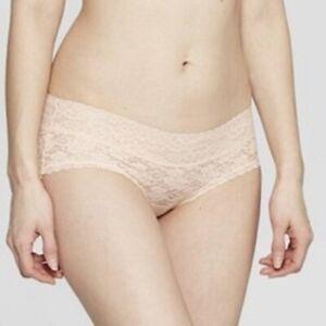 Women-039-s-All-Over-Lace-Hipster-Auden-Honeysuckle-Peach-XS