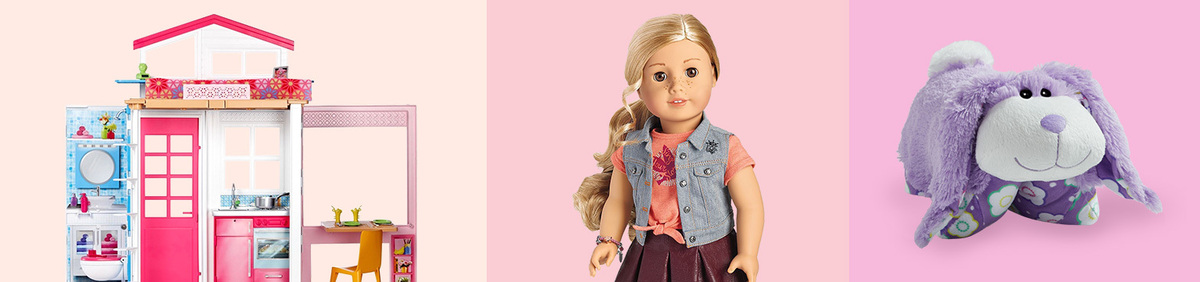 Shop Event New or Antique, They'll Charm You Barbie, Pillow Pets, American Girl, and more.