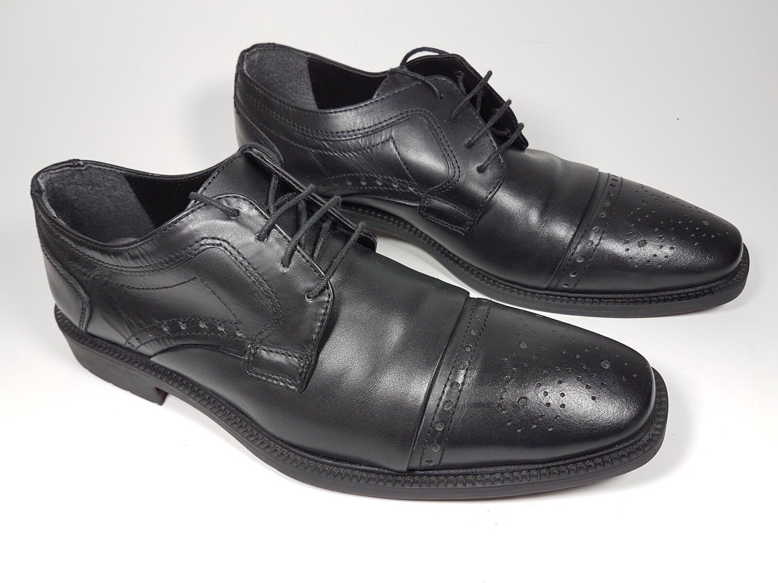 Claudio Conti black eu leather formal brogue shoes eu black 41 daaf6f