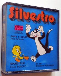 Super 8 cartone animato sonoro silvestro warner bros chiamata per