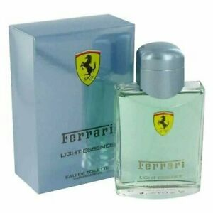 FERRARI-LIGHT-ESSENCE-2-5-oz-EDT-eau-de-toilette-Men-039-s-Spray-Cologne-NIB-New