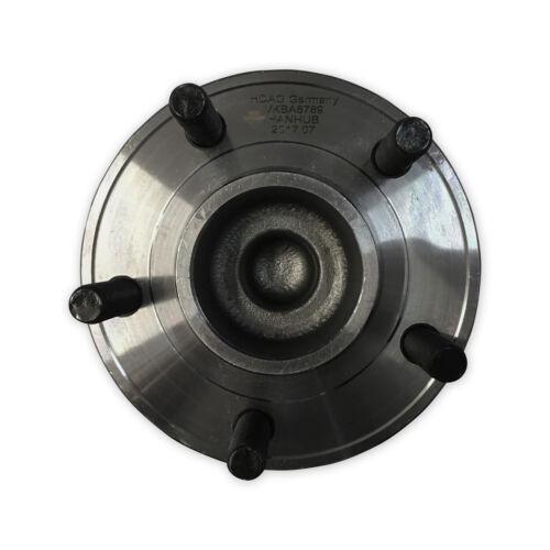 For Ford Focus 2011/>2015 2x Rear Hub Wheel Bearing Kit Pair Lh Rh ABS Sensor
