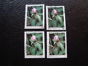 759 X4 Gestempelt a27 Briefmarke Yvert/tellier Nr Briefmarke Côte D Ivoire