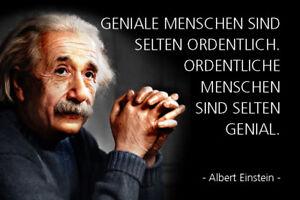 Albert-Einstein-Spruch-16-Blechschild-Schild-gewoelbt-Metal-Tin-Sign-20-x-30-cm