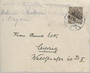 Allemagne 1898 Housse à Leipzig Mon Ref 1071-afficher Le Titre D'origine Luxuriant In Design