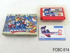 Complete Rockman 2 Famicom Japanese Import Mega Man NES Nintendo FC US Seller C