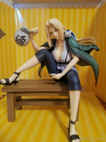 Naruto Gals Anime Naruto Shippuden Tsunade Ver.2 16cm PVC Figure New Loose