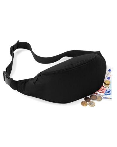 BAGBASE BG042 CLASSIC BUM BAG BELT BAGTRAVEL MONEY STORAGE BAG