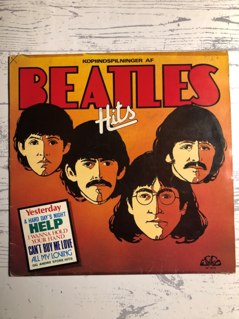 LP, The Beatles kopi Beatles Hits, Udgivet på ecco…