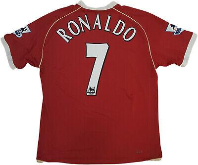 Cristiano Ronaldo jersey manchester united 2007 2008 AIG cr7 Jersey Premium XL | eBay