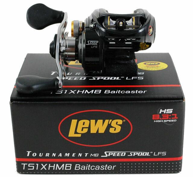 8.3:1 TS1XHMB Lew/'s Tournament MB Speed Spool LFS Baitcast Reel