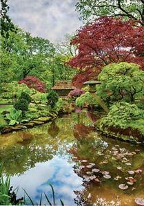 """Puzzle 1500 pieces 58*85 cm """"Netherlands. Japanese garden"""" Step Puzzle 83064"""